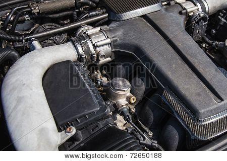 Sport Car Engine