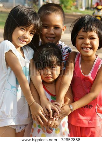 Pretty, Lovely Face, Asian Children