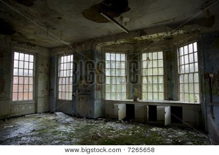 Childrens Ward In Abandoned Mental Asylum