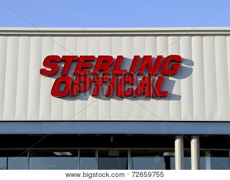 Sterling Optical Sign