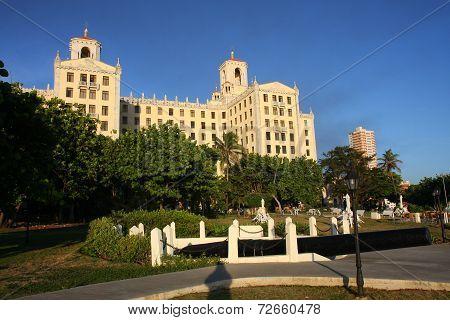 Hotel Nacional de Cuba gardens.