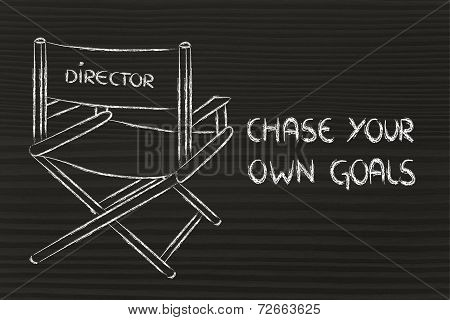 Director's chair design