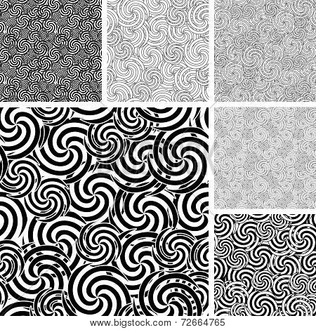 Seamless Material Wave Patterns