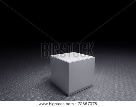 White Pedestals To Place Product On