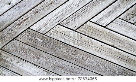 weathered wood planking