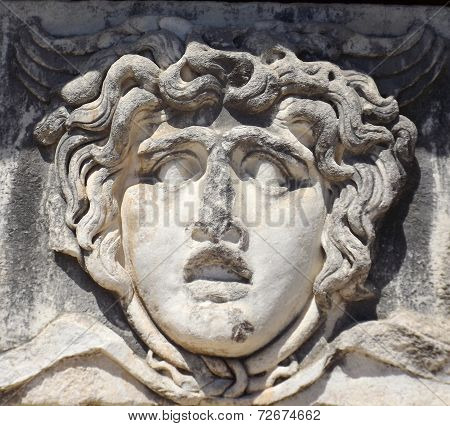 Gorgon Medusa in Turkey