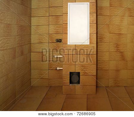 Construction In The Bathroom