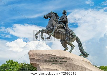 Monument Of Peter The Great, Saint Petersburg, Russia