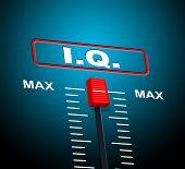 picture of understanding  - Intelligence Iq Indicating Brain Power And Understanding - JPG