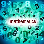 foto of numbers counting  - Counting Mathematics Meaning One Two Three And Number Educating - JPG