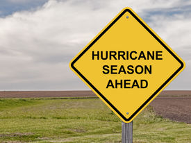 pic of hurricane wind  - Caution Sign  - JPG