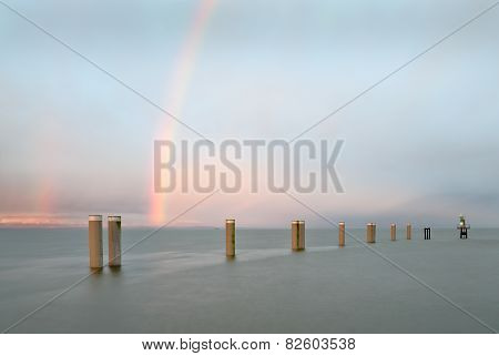 Georgia Strait Rainbow
