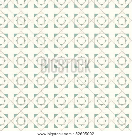 Vector Seamless Geometric Tiles Pattern