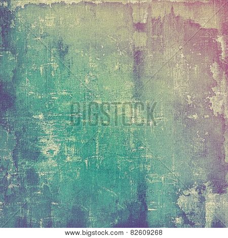Grunge colorful texture for retro background. With different color patterns: blue; gray; purple (violet); cyan