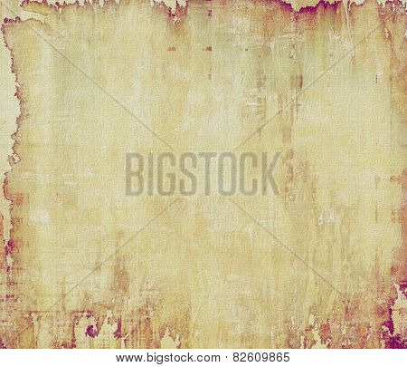 Abstract rough grunge background, colorful texture. With different color patterns: yellow (beige); brown; gray; purple (violet)