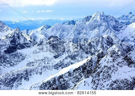 Mountains landscape in High Tatras, Slovakia