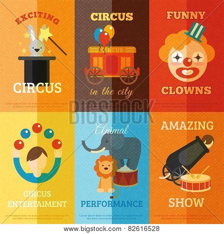 Circus Poster Set