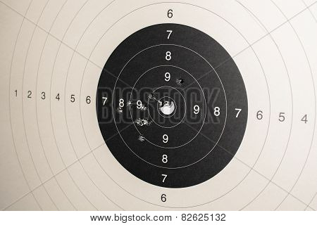 Target With Hits