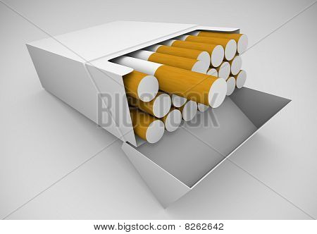Packet of cigarettes