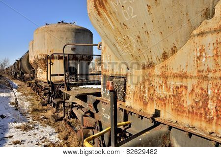 rusty tanks