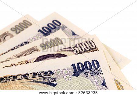 Japanese Yen Currency Bills
