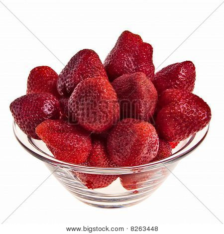 Fresh tasty strawberries