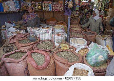 Merkato Market.