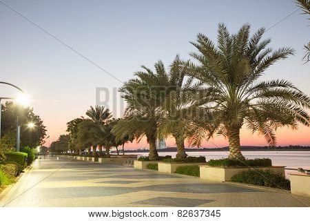 Promenade In Abu Dhabi