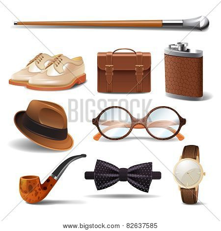 Gentleman Realistic Set