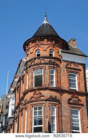 Victorian corner building, Derby.