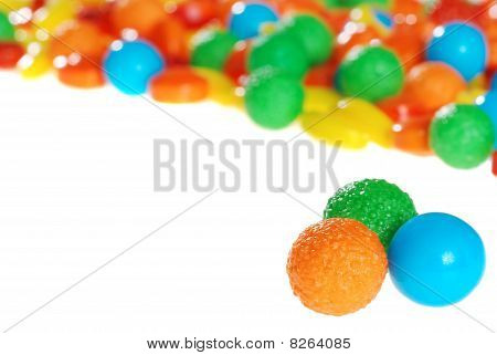 colorful fruit hard candy