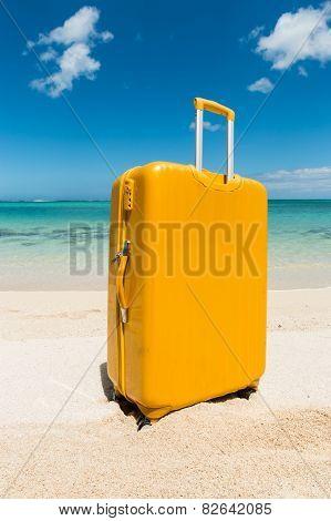Yellow Beach Trolley