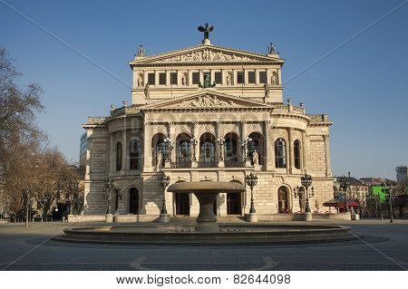 Opera House in Frankfurt