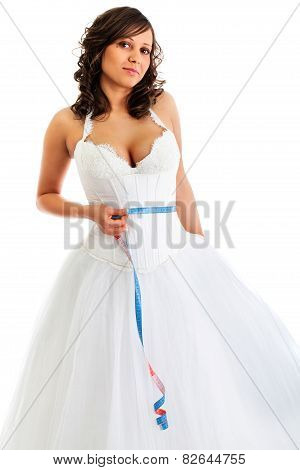 Young Bride With Tape