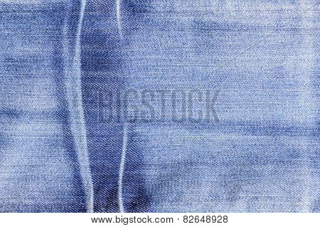Blue Denim Jeans Texture, Background