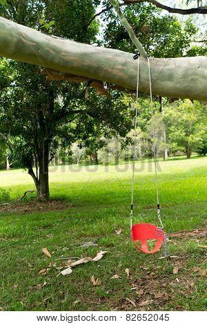 A Children's Swing Seat