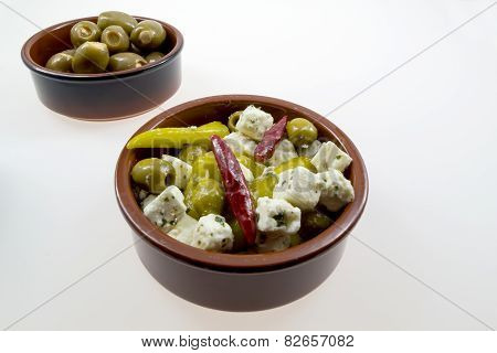 Various Antipasti