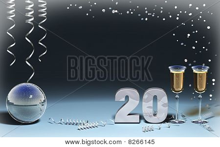 new year 2011 card