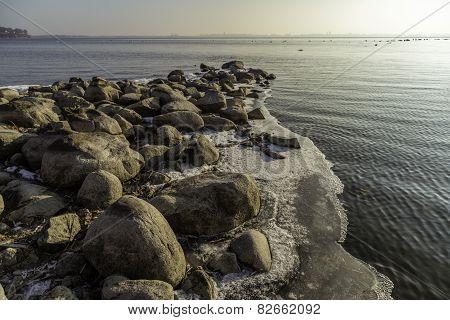 Rocky Winter Shore