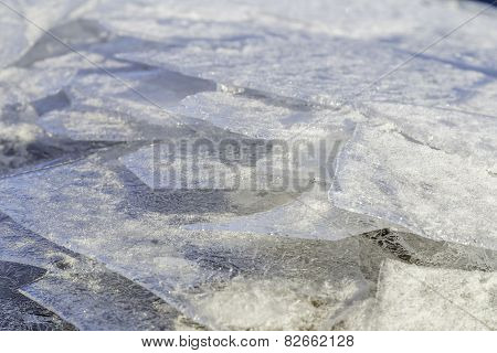 Ice Backgound