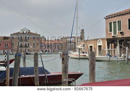 Boats At Docks