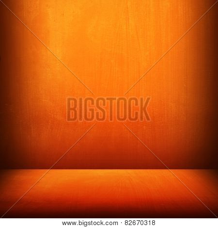 orange metal  background