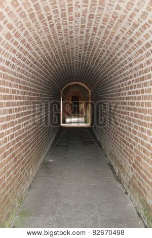 Long Walkway of Brick
