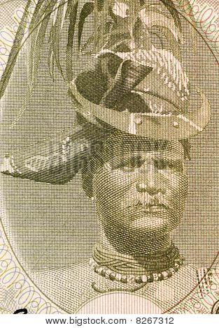 Timor - Circa 1967: Regulo Aleixo
