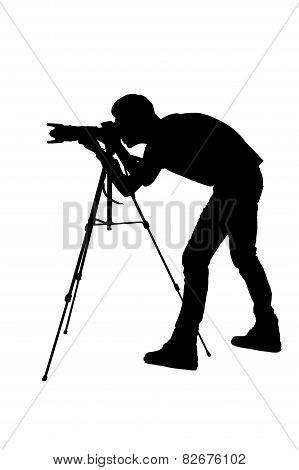 Photographer Shooting.