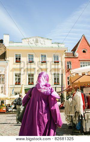 Purple Muslim