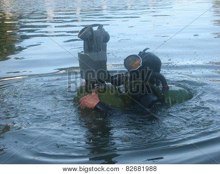 Diver-scout
