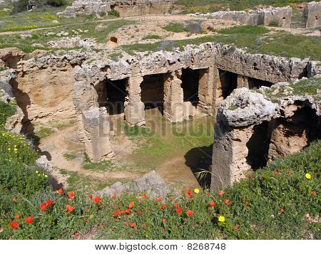 Tombs of the kings in Paphos, Cyprus
