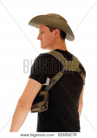 Soldier With Gun Holster.