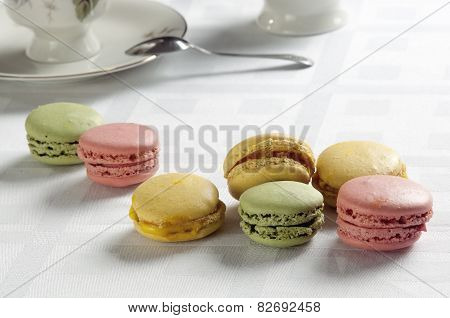 Traditional French Colorful Macaron